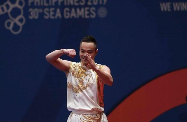 SEA Games 30: Deux medailles d'or et une de bronze pour le Vietnam en debut de 3e journee hinh anh 1