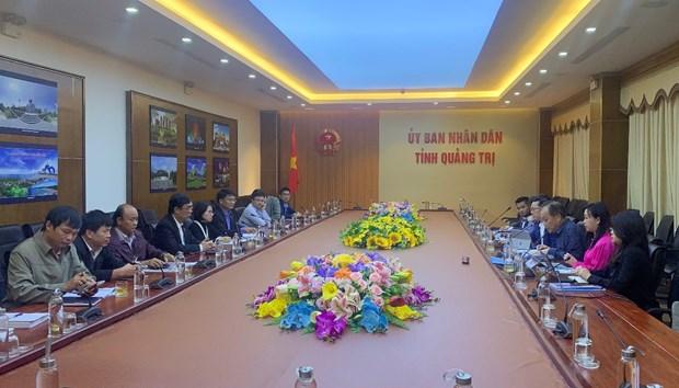 Des entreprises de Singapour etudient un projet de l'aeroport de Quang Tri hinh anh 1
