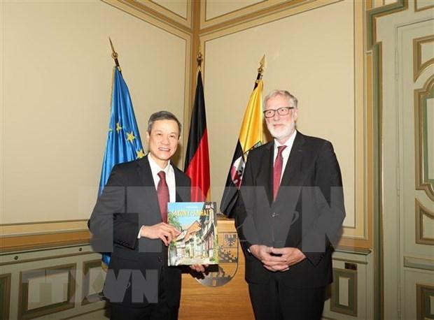 Promouvoir la cooperation entre le Vietnam et le land allemand de Saxe-Anhalt hinh anh 1