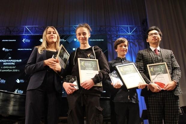 Un etudiant vietnamien remporte le 3e prix au concours international de musique en Russie hinh anh 1
