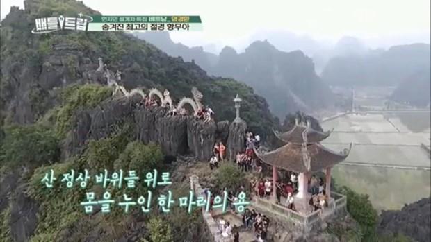 Les grottes de Thien Ha et de Mua a Ninh Binh distinguees dans une emission sud-coreenne hinh anh 3