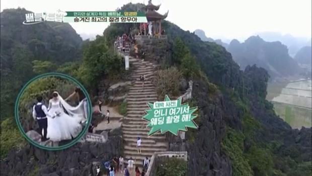 Les grottes de Thien Ha et de Mua a Ninh Binh distinguees dans une emission sud-coreenne hinh anh 4