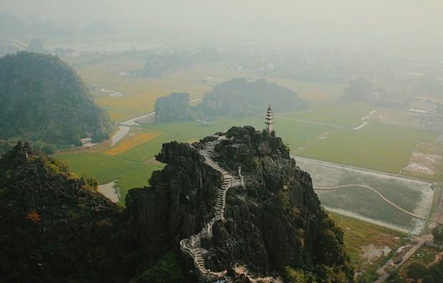 Les grottes de Thien Ha et de Mua a Ninh Binh distinguees dans une emission sud-coreenne hinh anh 1