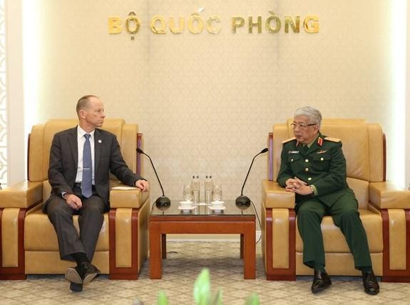 Vietnam et Etats-Unis resserrent leurs relations en matiere de defense hinh anh 1