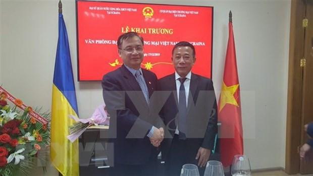 Ouverture d'un bureau de representation commerciale du Vietnam en Ukraine hinh anh 1
