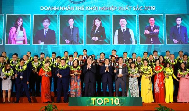 Quatre- vingt et un excellents jeunes entrepreneurs honorees hinh anh 1