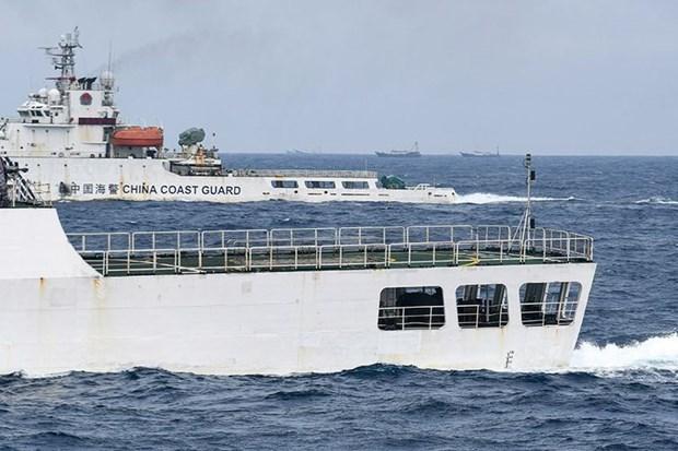 L'Indonesie detecte une violation continue de sa ZEE par des bateaux de peche chinois hinh anh 1