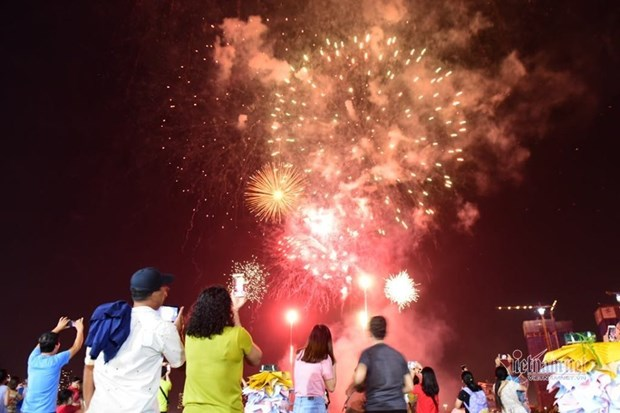 Nouvel An du Rat: feux d'artifice dans l'ensemble du pays hinh anh 1