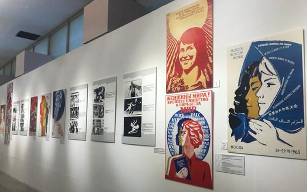 Une exposition a Hanoi met en lumiere les femmes de l'ex-Union sovietique hinh anh 1