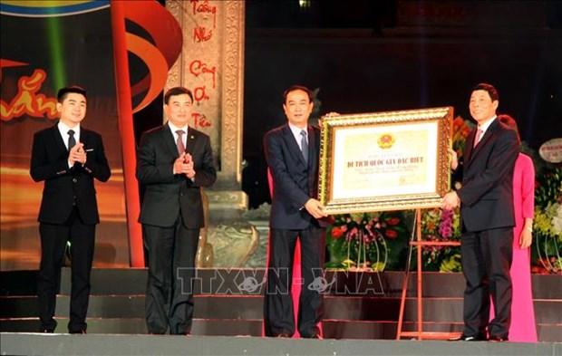 La citadelle de Xuong Giang reconnue comme vestige national special hinh anh 1