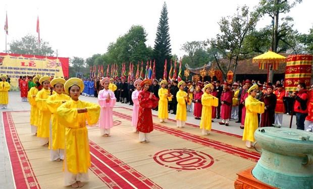 Phu Tho: fete en commemoration de la Mere Au Co hinh anh 1