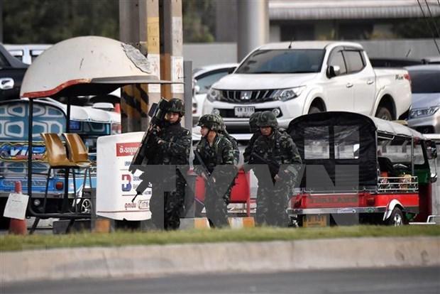 Le peuple thailandais mobilise des fonds pour les victimes de la fusillade hinh anh 1