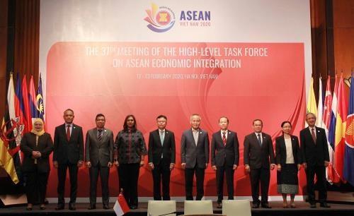 Reunion de l'equipe speciale de haut niveau sur l'integration economique de l'ASEAN hinh anh 1