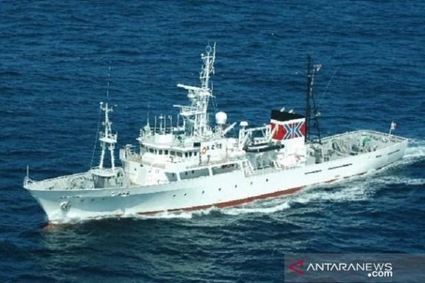 Le Japon remet un patrouilleur a l'Indonesie hinh anh 1