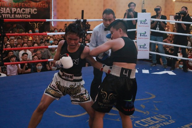 La premiere boxeuse vietnamienne remporte la competition WBO Asie-Pacifique hinh anh 1