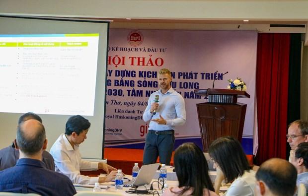 Consultation sur des scenarios de developpement du delta du Mekong a l'horizon 2050 hinh anh 1