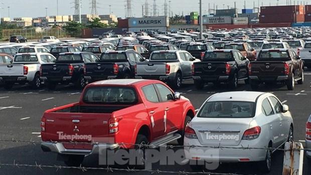 Fevrier: 94% des automobiles importees au Vietnam viennent de Thailande et d'Indonesie hinh anh 1