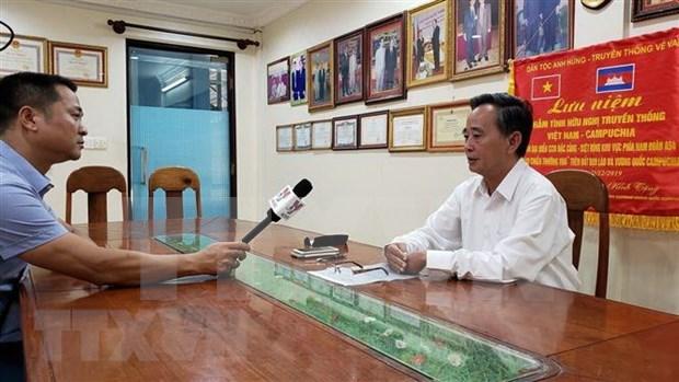 Les Vietnamienne au Cambodge font face activement a la pandemie de COVID-19 hinh anh 1