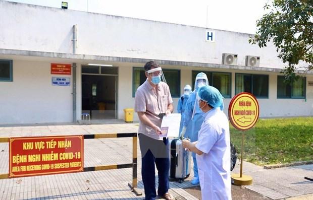 COVID-19 : un patien a Thua Thien-Hue est gueri et sorti de l'hopital hinh anh 1