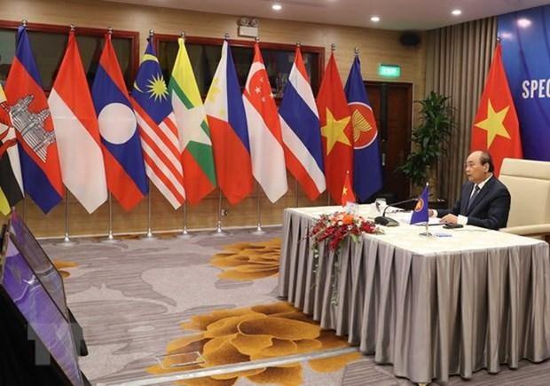 Le Japon apprecie la presidence tournante de l'ASEAN du Vietnam en 2020 hinh anh 1