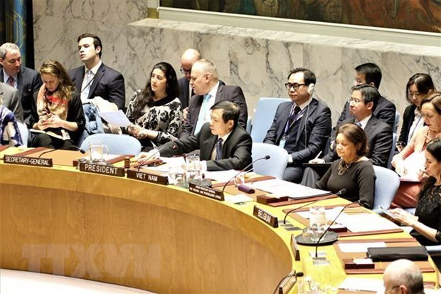 Le Vietnam acheve son rapport sur le mois de presidence du Conseil de securite de l'ONU hinh anh 1