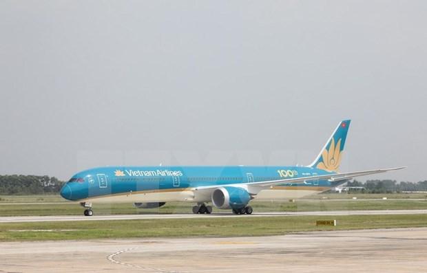 Vietnam Airlines transporte gratuitement des marchandises pour soutenir la prevention du COVID-19 hinh anh 1