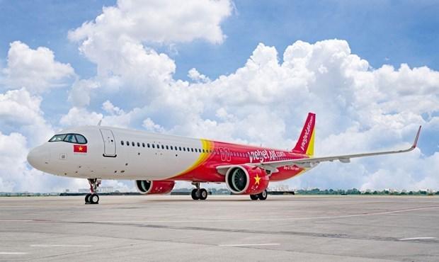 Vietjet Air reprend toutes ses 45 liaisons interieures hinh anh 1