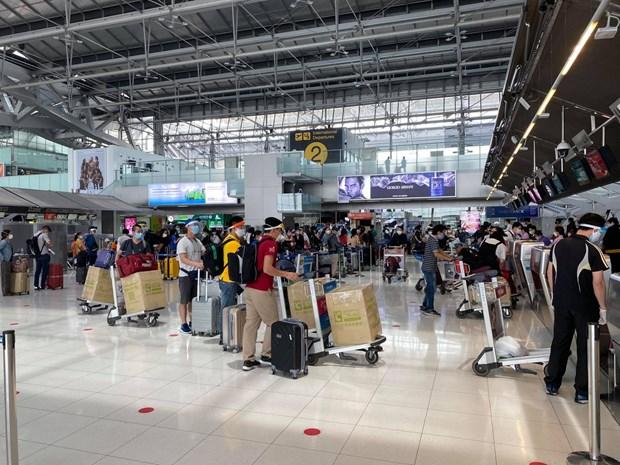 COVID-19: Rapatriement de citoyens vietnamiens en Thailande hinh anh 1