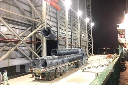 Les exportations de tubes en acier de Hoa Phat connaissent une croissance de 78% en cinq mois hinh anh 1
