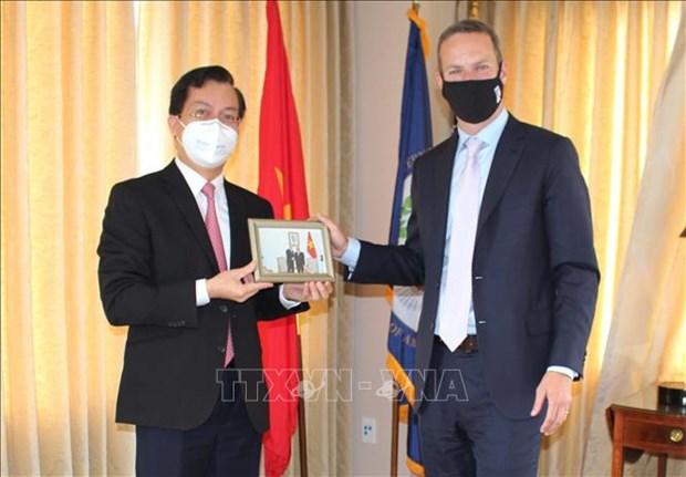 Le Vietnam intensifie ses liens de cooperation avec les Etats-Unis hinh anh 1