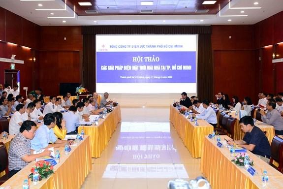 Ho Chi Minh-Ville compte plus de 7.300 projets d'energie solaire hinh anh 1