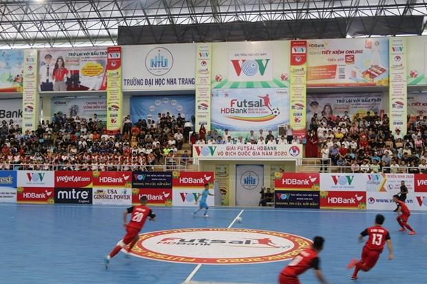 Coup d'envoi du championnat de futsal HDBank 2020 hinh anh 1