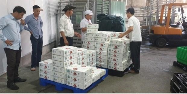 Les premiers lots de litchis vietnamiens arrivent au Japon hinh anh 1
