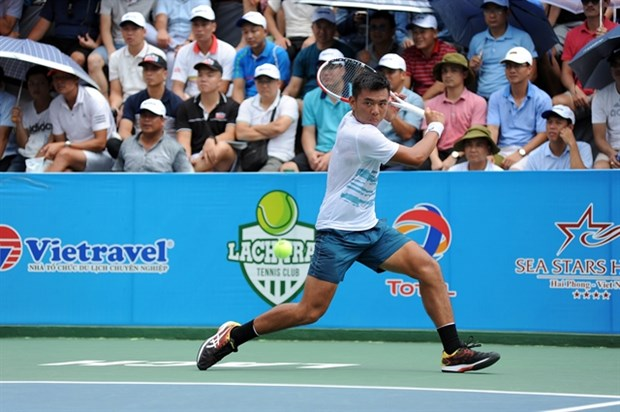 Tennis : Ly Hoang Nam remporte le tournoi VTF-Masters 500-1 Hai Dang Cup 2020 hinh anh 1