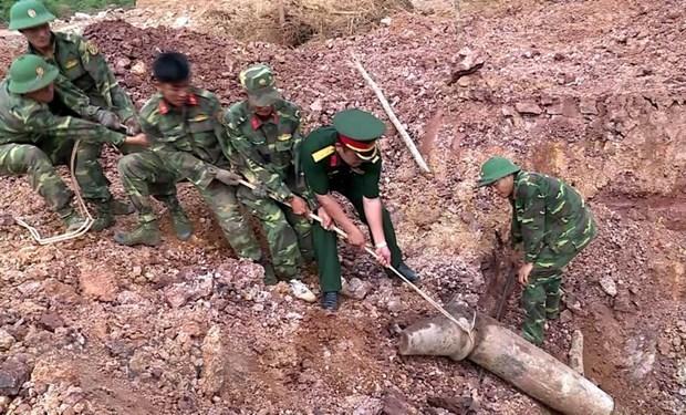 Vietnam - Etats-Unis: efforts conjoints dans le deminage dans la province de Quang Tri hinh anh 1