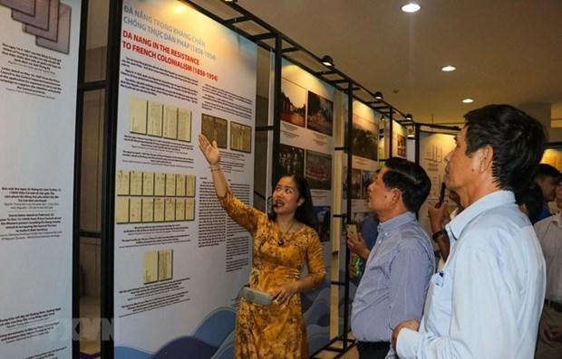 Exposition d'archives sur la ville urbaine maritime de Da Nang hinh anh 1