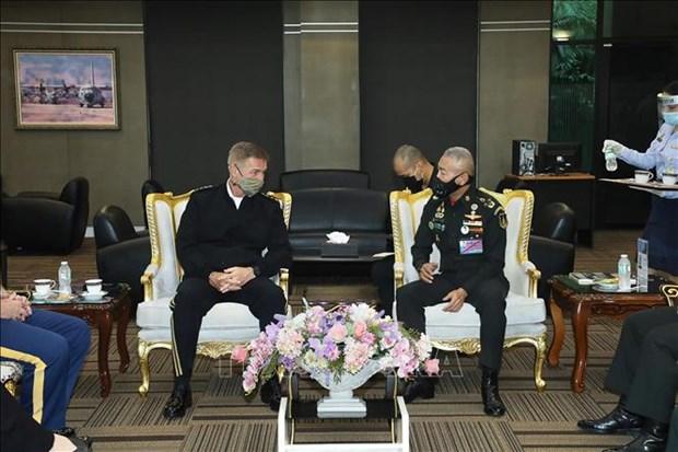 Les Etats-Unis et la Thailande signent une «Declaration de vision strategique» hinh anh 1