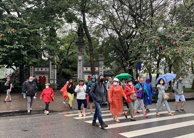 Le nombre de touristes etrangers au Vietnam diminue de 61,6% en sept mois hinh anh 1