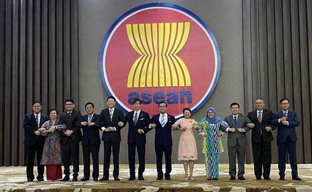 ASEAN-Japon: le premier protocole visant a modifier l'AJCEP entre en vigueur dans six pays hinh anh 1