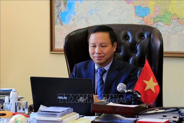 ASEAN 2020: les ambassadeurs des pays de l'ASEAN en Russie apprecient le role du Vietnam hinh anh 1