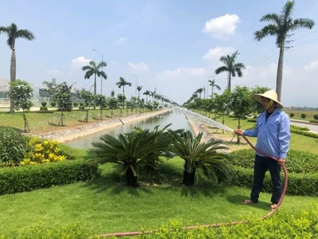 La province de Vinh Phuc cherche a creer un environnement vert dans les zones industrielles hinh anh 1