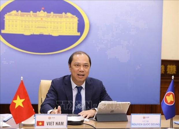 ASEAN 2020: Le Vietnam participe au Dialogue ASEAN - Republique de Coree hinh anh 1