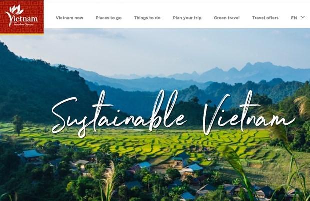 Le tourisme vietnamien lance une page de voyage durable en ligne hinh anh 1