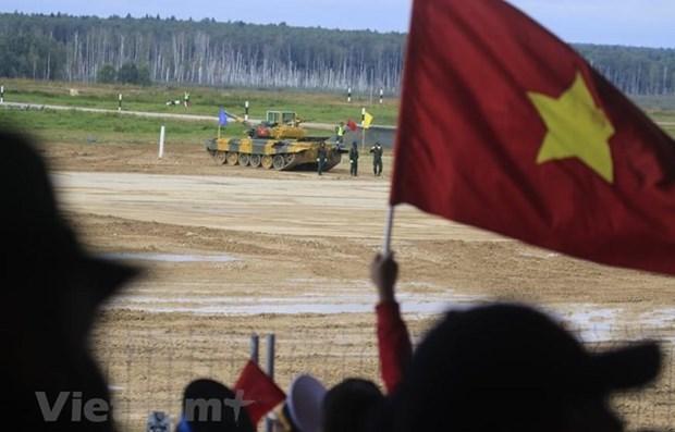 Le Vietnam continue a obtenir de bon resultats aux Army Games 2020 hinh anh 1