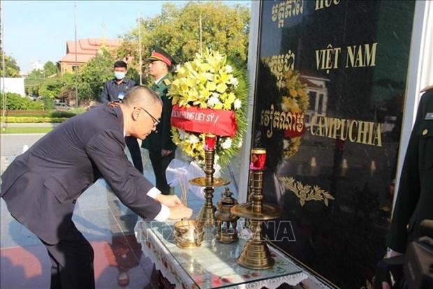 Celebration de la Fete nationale du Vietnam a Cuba et au Cambodge hinh anh 1