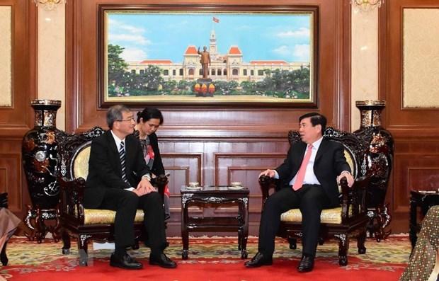 Ho Chi Minh-Ville promet son soutien au developpement des relations avec le Japon hinh anh 1