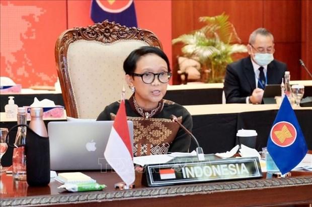 AMM 53 : l'Indonesie souligne l'importance de la paix et de la stabilite dans la region hinh anh 1