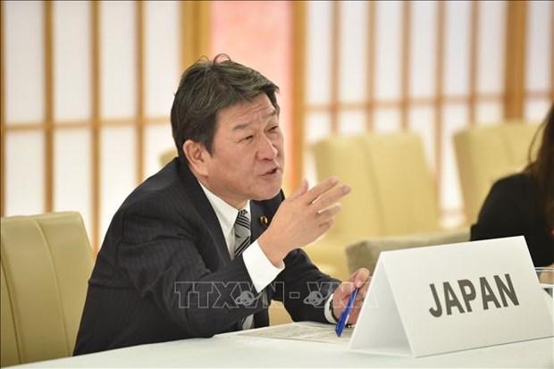 Le Japon affirme le maintien de la vaste mer de la region Asie-Pacifique en tant que mer libre hinh anh 1
