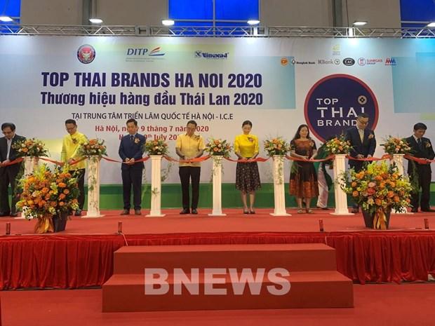 Ouverture de l'exposition Top Thai Brands 2020 a Ho Chi Minh-Ville hinh anh 1