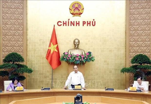 Le PM Nguyen Xuan Phuc preside la reunion du Conseil central de l'emulation et de la recompense hinh anh 1